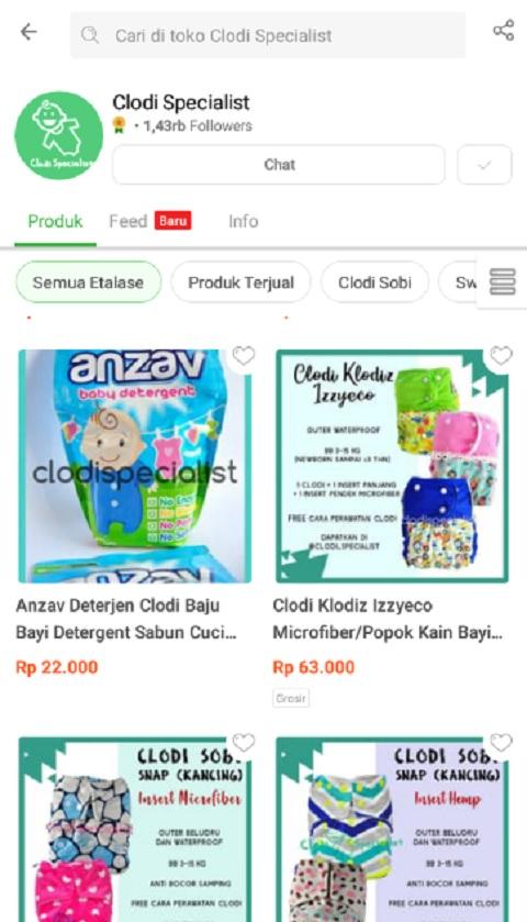 Clodi Specialist Adalah Toko Peralatan Bayi Terlaris di Tokopedia