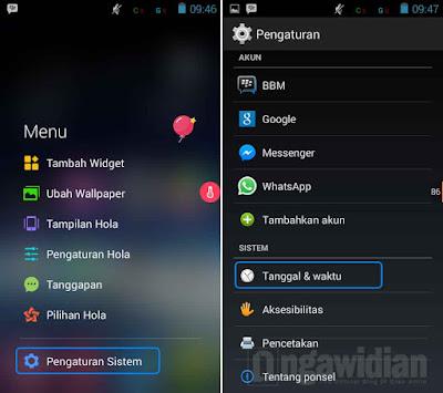Cara Mengganti Tanggal dan Jam Android