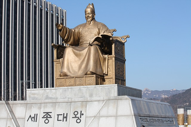 King Sejong, Aksara yang Digunakan oleh Bahasa Korea