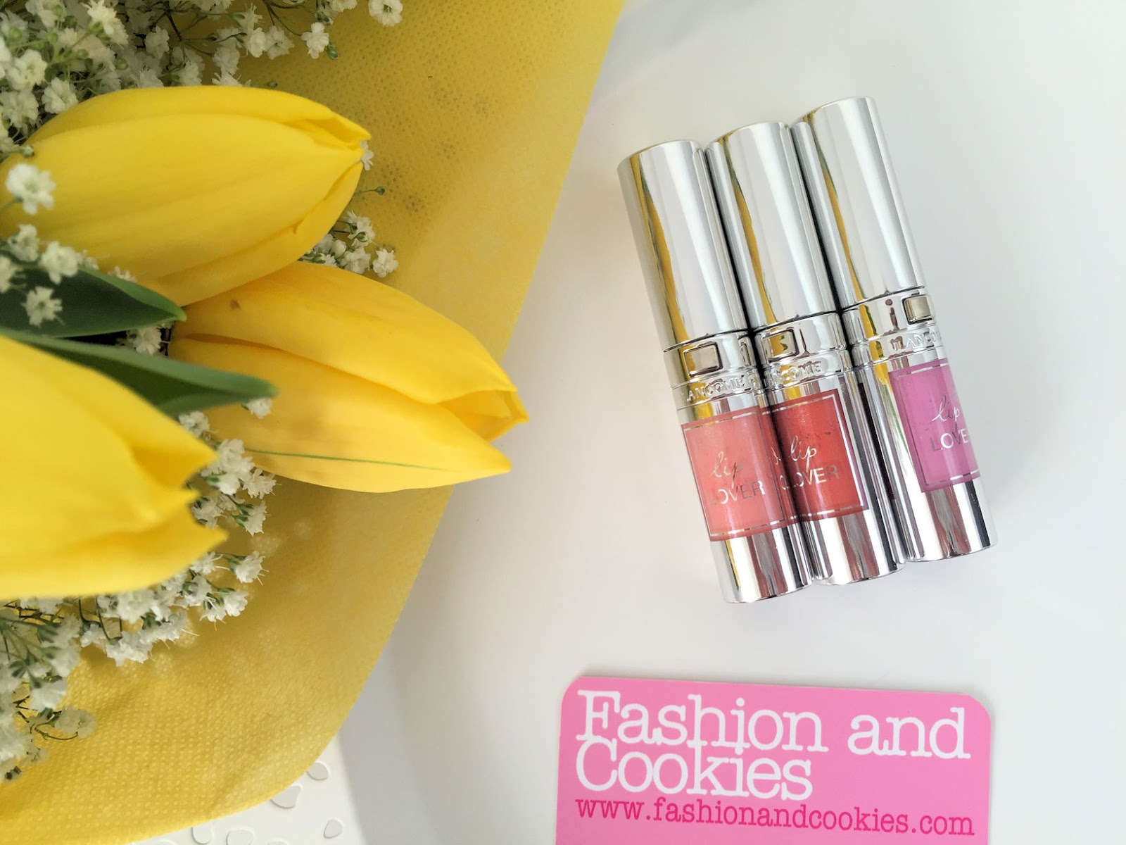 Lancôme makeup collection for Spring 2016 My Parisian Pastels lipgloss on Fashion and Cookies beauty blog, beauty blogger