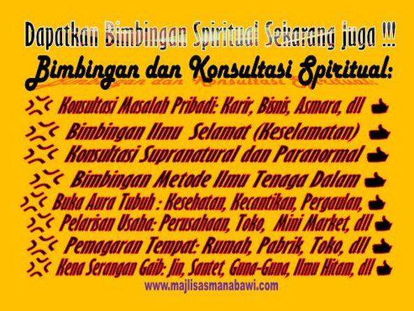 bimbingan spiritual supranatural paranormal
