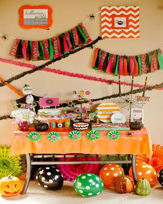 party halloween deco