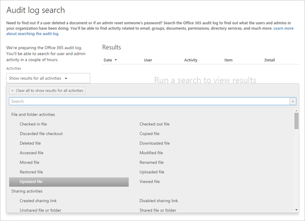 A Static State: Office 365 Unified Audit Logging with SharePoint