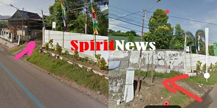 Kamaluddin, Pemkot Parepare Harus Perhatikan Perbaikan Jalan Samping SMPN 8 Lompoe