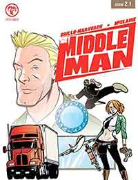 The Middleman (2006) Comic