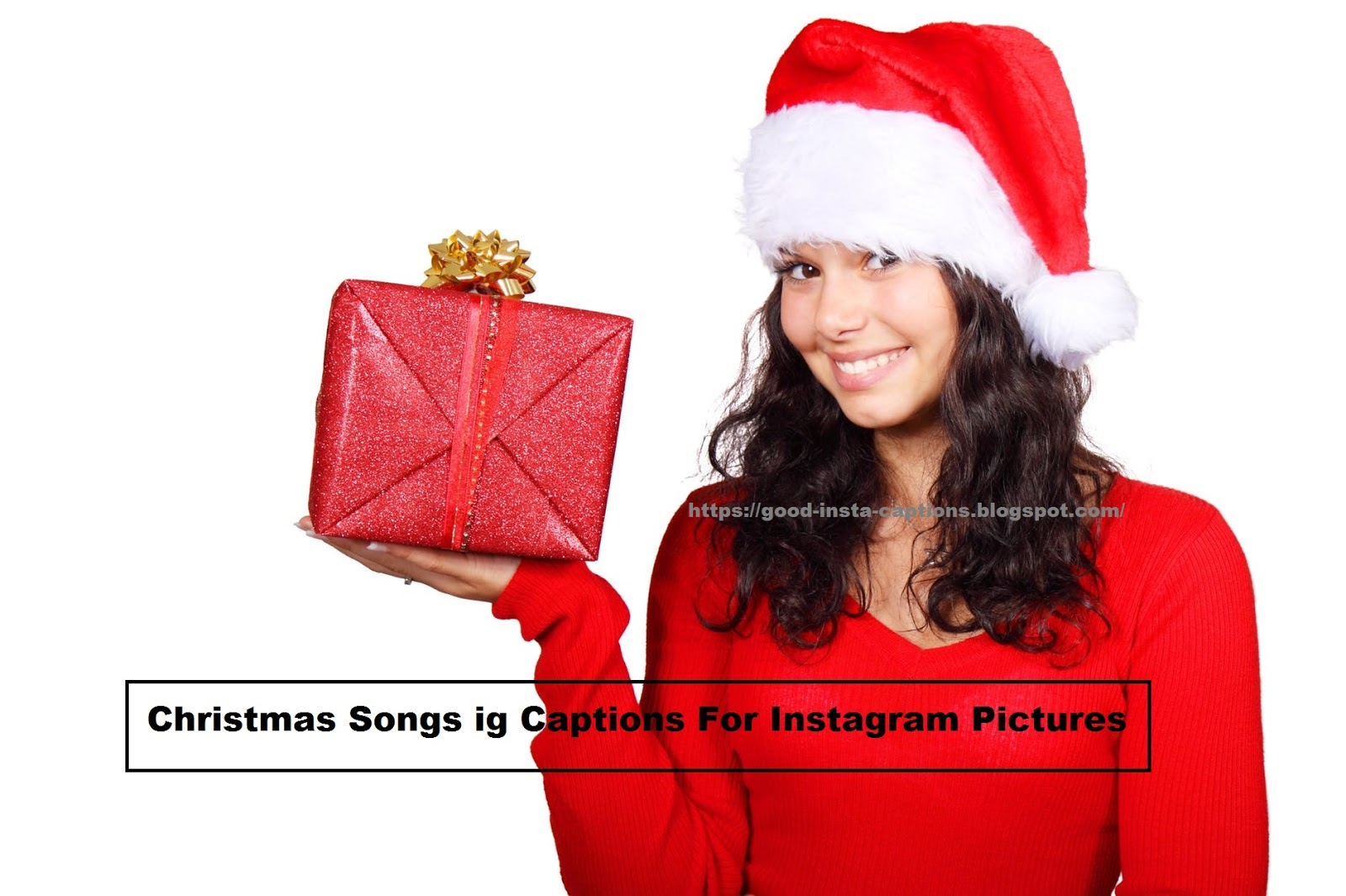 Christmas Songs ig Captions For Instagram Pictures