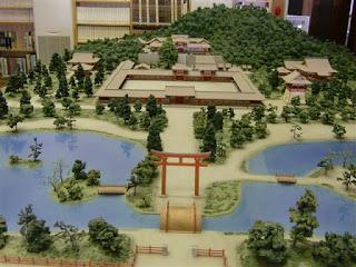 鶴岡文庫の模型