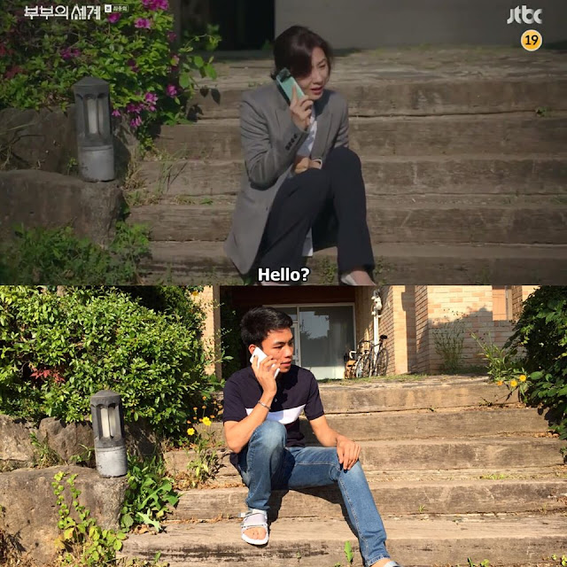 """""""The World of The Married"""" Fanboy Reenacts Scenes at the Actual Filming Location"""