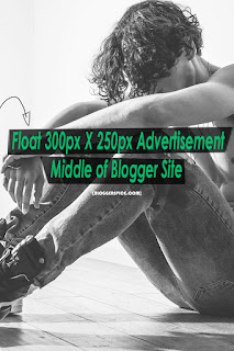 Float 300px X 250px Advertisement Middle of Blogger Site