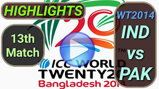 IND vs PAK 13th Match