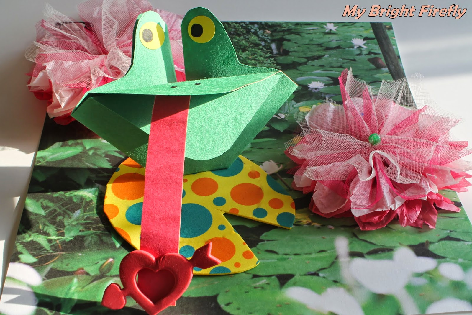 My Bright Firefly: Hoppy Father's Day Frog on a Lily Pad ... - photo#31