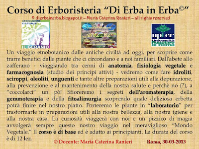 © http://dierbainerba.blogspot.it – Maria Caterina Ranieri – all rights reserved ॐ