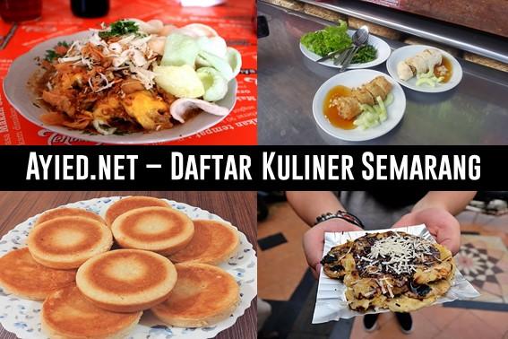 Daftar Kuliner Semarang