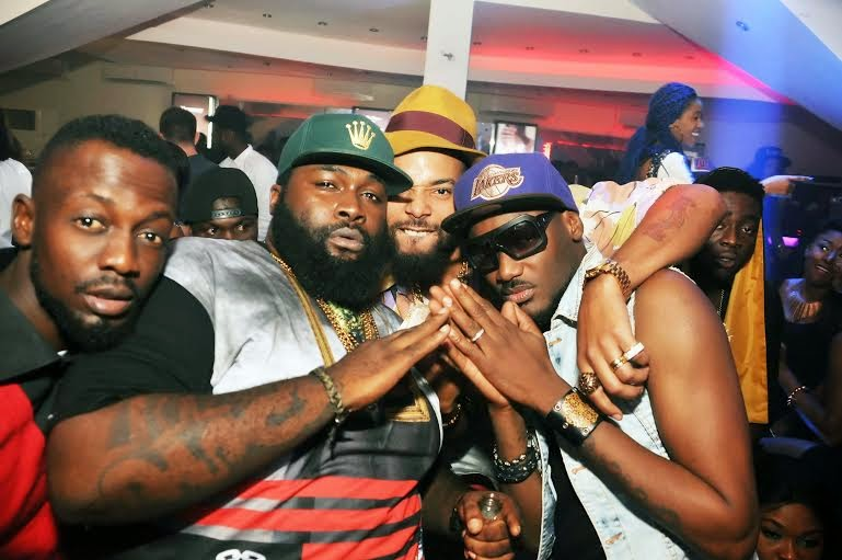 02 Photos: 2face, Wizkid, Sasha attend PREs 25th birthday party