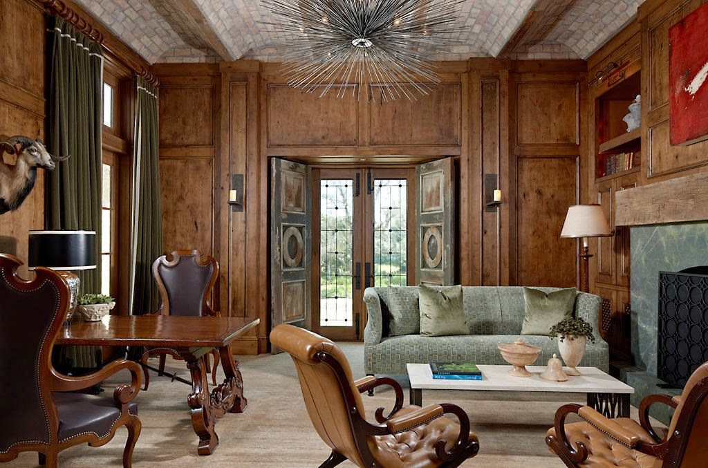 Marc Michaels Interior Design Invites Charming Old World Into Abode