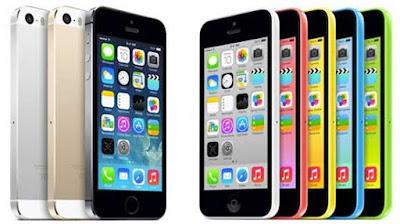 iPhone 5S dan 5C Generasi Ketujuh (2013)