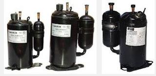 Fungsi dan bagian Kompresor pada Air Conditioner (AC) atau pendingin ruangan