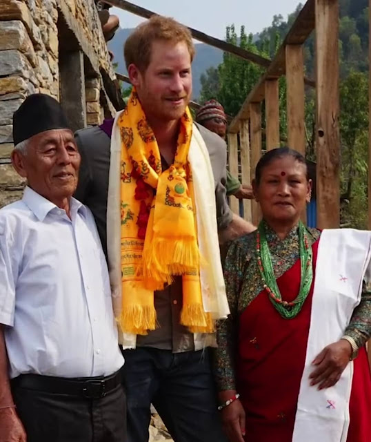 Prince Harry released a video clip to wish the best of luck to this year's participants in the 100km Trailwalker UK Relay Challenge and to thank them for their support of the two charities benefitting from the funds raised - Oxfam and The Gurkha's Welfare Trust.