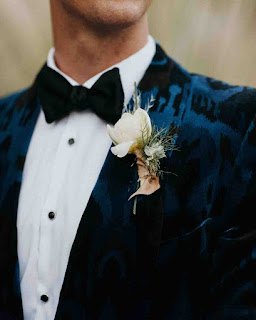 wedding ideas - grooms attire - velvet crush jacket - wedding services in Philadelphia PA - inspiration by K'Mich - wedding ideas blog