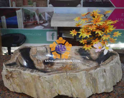 wastafel batu fosil jakarta