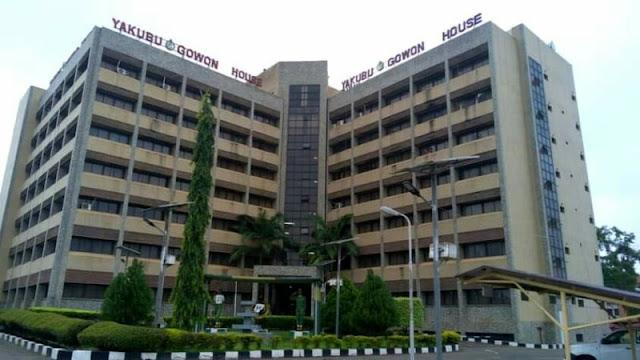 "Alt: = ""photo showing NYSC National Secretariat, Gowon House, Abuja"""