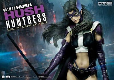 "Figuras: Imágenes promocionales de Huntress de ""Batman Hush"" - Prime 1 Studio"