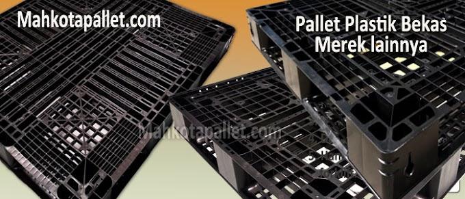 Review Pallet Plastik Bekas Ukuran 1300 x 1100 x 130 mm