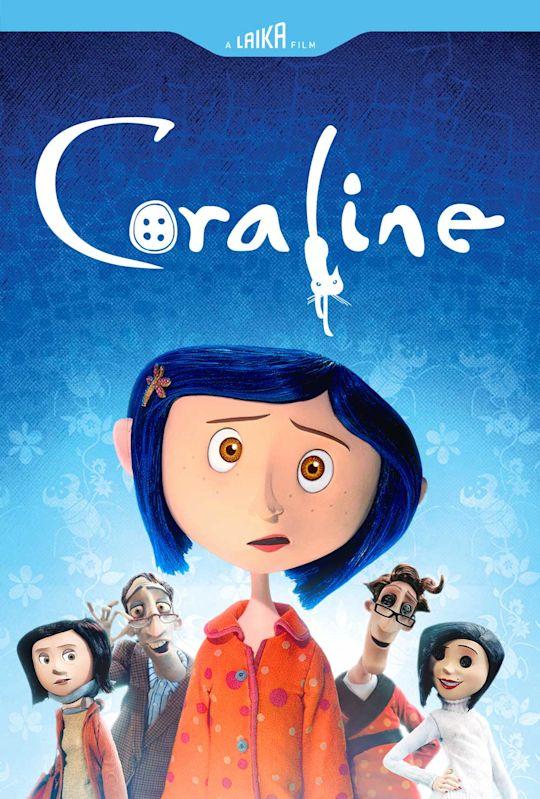 Coraline Blu-Ray/DVD Movie