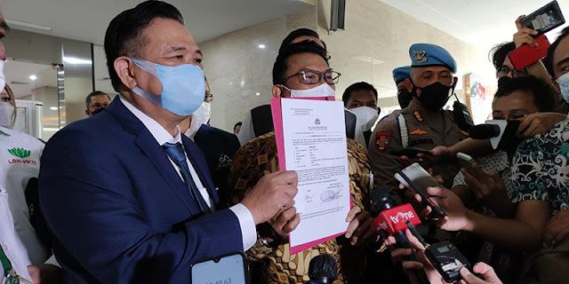 Resmi, Peneliti ICW Egi Primayogha Dilaporkan Moeldoko ke Polisi atas Dugaan Fitnah