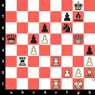 Les Blancs jouent et matent en 4 coups - Lev Alburt vs Peter Yu, Chicago, 1989