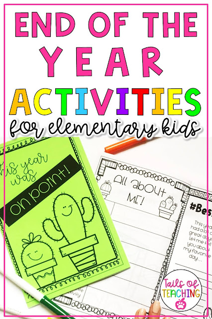 activities-for-the-end-of-the-school-year
