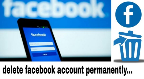 How to delete facebook account permanently from mobile