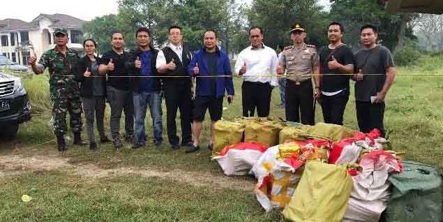 Polresta Depok Berhasil Gagalkan Penyeludupan 1 Ton Narkoba Jenis Sabu Dari WNA Taiwan