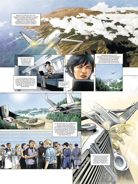Optic Squad tome 2 Mission Los Angeles aux éditions Rue de Sèvres Page 20