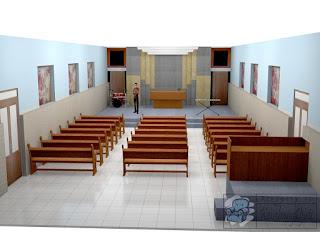 Peredam Suara Ruangan Gereja