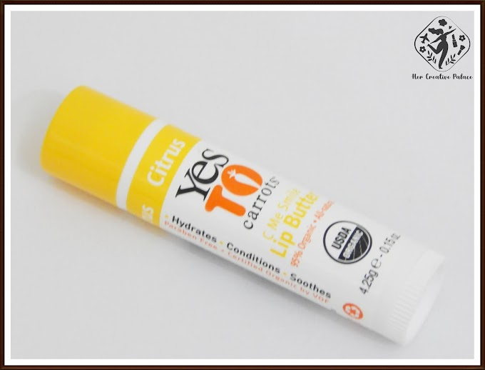 Yes to Carrots C Me Smile Citrus Lip Butter: Review, Swatch