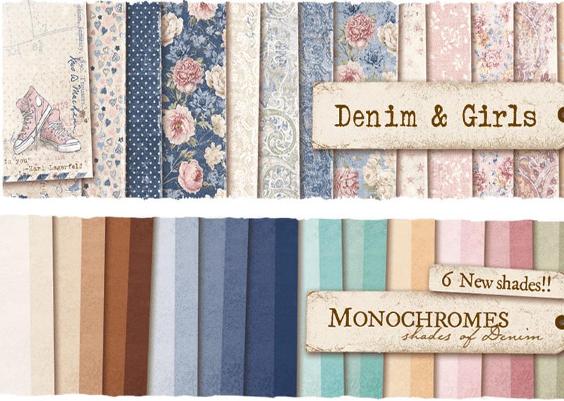 Denim & Girls Collection Frantic Stamper