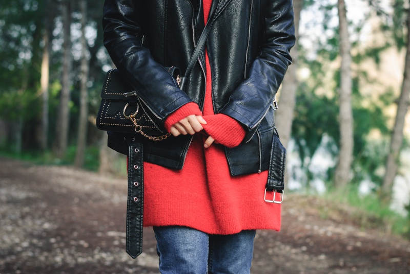 Red Sweater Pimkie