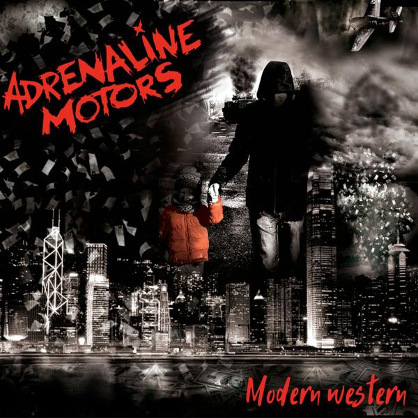 "Adrenaline Motors stream new album ""Modern Western"""