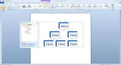 Cara menciptakan Struktur Organisasi Di Microsoft Word Cara Membuat Struktur Organisasi Di Microsoft Word