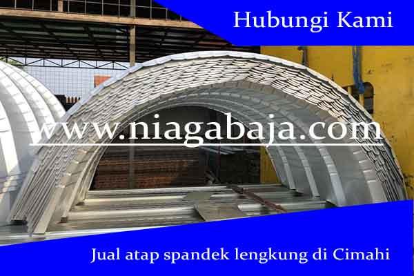 Jual Atap Spandek Lengkung di Cimahi - Harga Murah Berkualitas