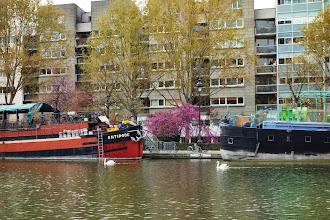 Paris : Bassin de la Villette, promenades Eric Tabarly et Jean Vigo, un port de plaisance à Paris - XIXème