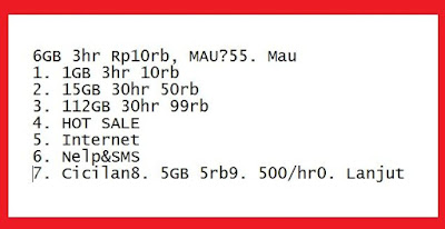√ Cara Mengaktifkan Paket Internet murah Tri Kuota 112GB Masa aktif 1 bulan 5