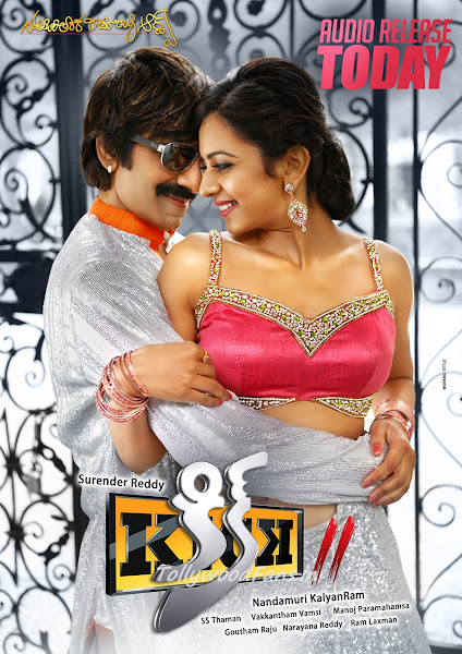 Poster Of Kick 2 (2015) UnCut 720p HDRip Hindi Dubbed Full Movie Download