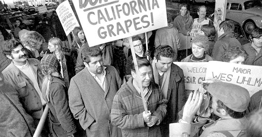 Cesar Chavez Begins Fast to Protest Conditions of Farm Workers