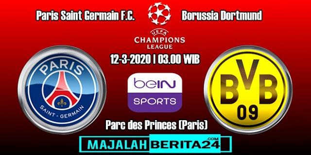 Prediksi Paris Saint Germain vs Borussia Dortmund