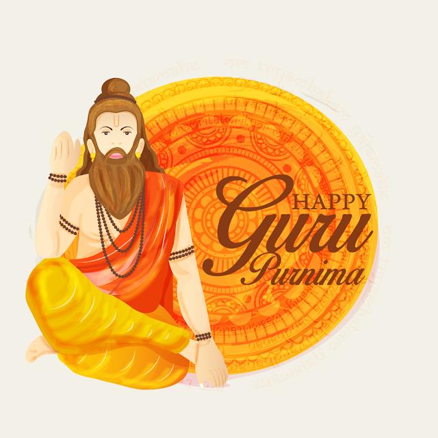 innovative abstract poster guru purnima nice