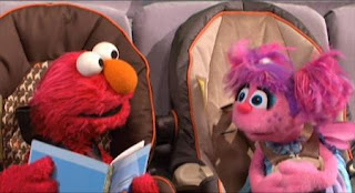 Elmo and Abby Cadabby talk about different ways to get from one place to another. Sesame Street Elmo's Travel Songs and Games