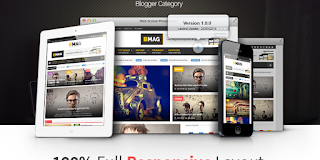 BMAG v2.0.3 - Magazine Responsive Blogger Template