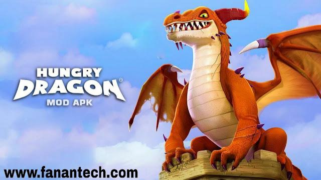 تحميل لعبة هنجري دراجون Hungry Dragon v2 مهكرة للاندرويد اخر اصدار